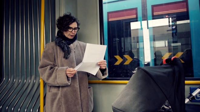 Lesungen im öffentlichen Nahverkehr